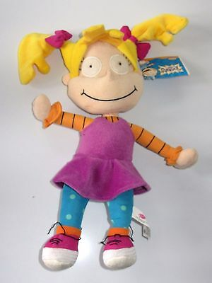 "Rugrats  Angelica 12"" Plush Soft Toy with Tag"