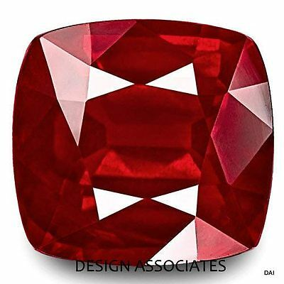15 Mm Ruby Square Cushion Cut Natural Gemstone Aaa