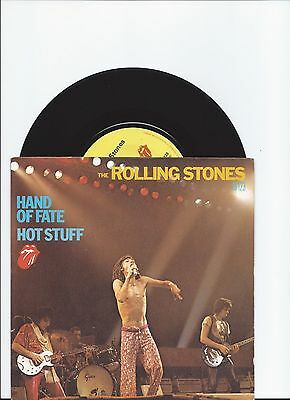 Rolling Stones Hot Stuff Original Single From France With Fab Pic Cover