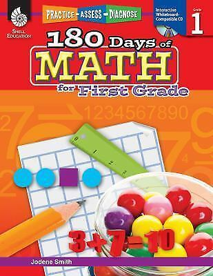 180 Days of Practice: 180 Days of Math for First Grade by Jodene Smith (2011,...