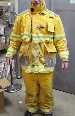 Globe Fire Fighter Suit Coat & Pants