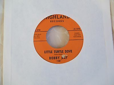 Bobby Day 'Little Turtle Dove / Saving My Life For You' US Highland 45 vgc