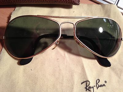 Ray Ban Vintage Bausch & Lomb Aviator Sunglasses with original case