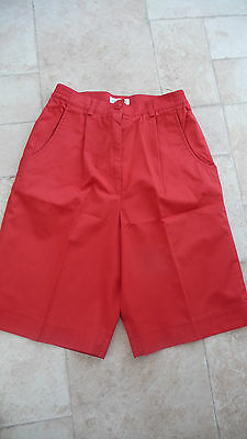 One Up Golf Ladies Shorts - Red - Size 10 - Nwot