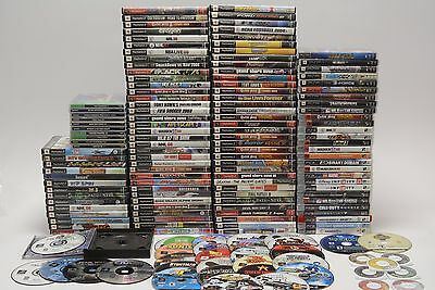 Sony  PlayStation, PS2, PS3  and PSP Game Lot 150+ Games