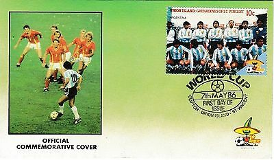 World Cup 1986 Official Football Commemorative First Day Cover
