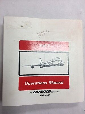 B747  168B/SP-68 Original Saudi Arabian Airlines Operations Manual Volume 2