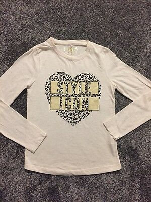 Girls Long Sleeved Top By Primark Age 9-10 Years
