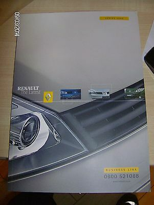 RENAULT BUSINESS LINK SALES BROCHURE & CD   SPRING 2003  #Ren08