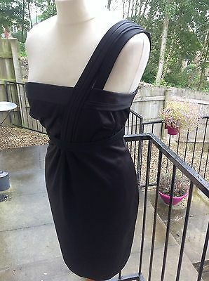 River Island Black Stunning  Dress Uk 10 # Immaculate !!