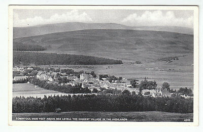 Tomintoul The Highest Village In The Highlands Banff Scotland JB White A993