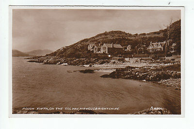 Rough Firth On The Solway Coast Kirkcydbright 1939 Real Photograph Valentines