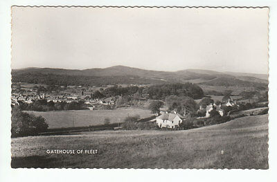 Gatehouse Of Fleet Kirkcudbright General View c1960 Real Photograph Old Postcard