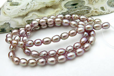 """Exquisite New Freshwater Aaa+ Rare Natural Deepest Colors, Full Pearl Strand 16"""""""