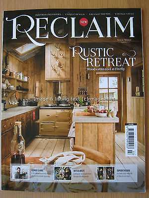 Reclaim magazine June 2016 Issue Three 3 George Clarke Junk Sculptures Salvage