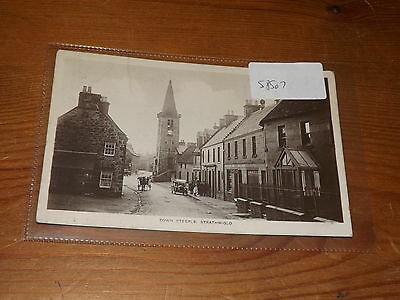 Old  postcard our ref #58507 STRATHMIGLO 1920S RP