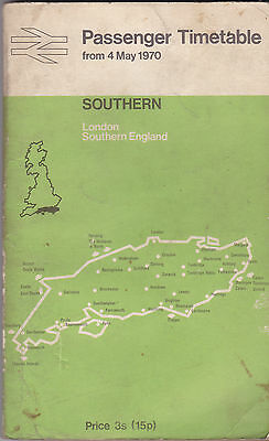 BR [SR] LONDON SOUTHERN ENGLAND from MAY 1970