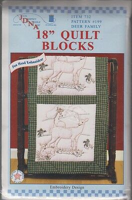 """1 Pk Jack Dempsey /""""Fiesta Flowers/"""" Stamped Embroidery Quilt Blocks"""