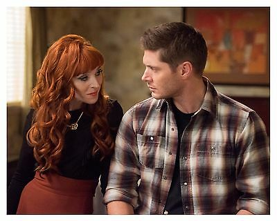 *SUPERNATURAL *(DEAN & ROWENA) Jensen Ackles & Ruth Connell 8x10 Glossy Print