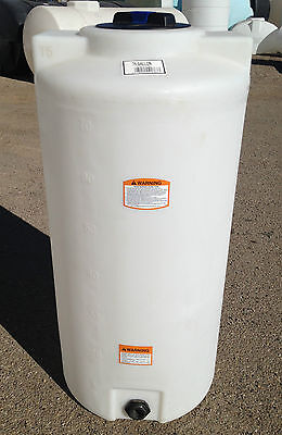 75 gallon vertical poly tank/container, indoor water or chemical storage