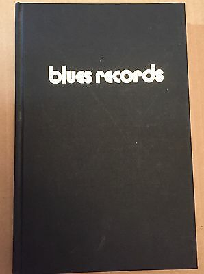 Rare Blues Records Discography 1943-1966 By Mike Leadbitter And Neil Slaven Book