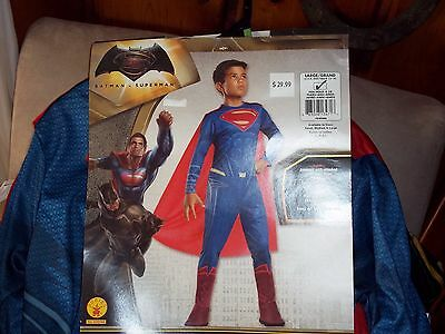 Superman Costume Kids Halloween  Size 12-14