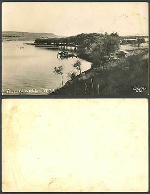 South Africa The Lake Bethlehem O.F.S Panorama Eastern Free State Old Real Photo