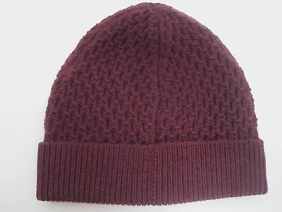 $95 Theory Cannan 100% Cashwool Hat Cap One Size Italy Nwt
