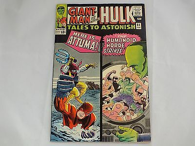 Tales To Astonish Feat. Giant-Man/hulk #64 Marvel Silver Age Age February 1965