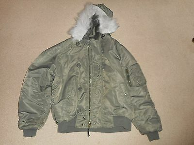 N-3B USAF Air Force Cold Weather Jacket size XL !!!