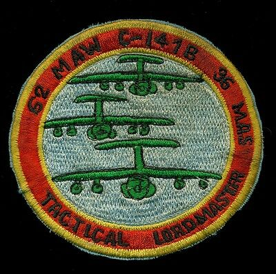 USAF 62nd MAW C-141B 36 MAS Tactical Loadmaster Patch RP-1