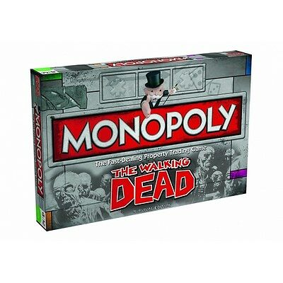 New Monopoly Board Game The Walking Dead Survival Edition 129414-3