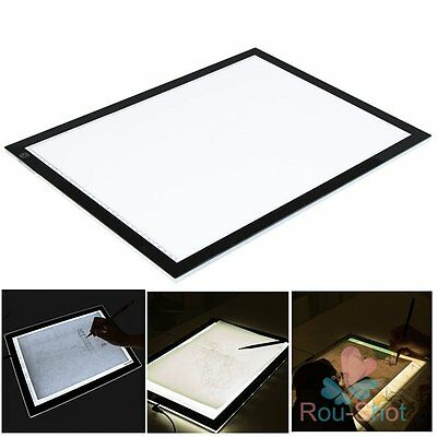 Tracing Pad A3 LED Ultra Slim Box Light Design Stencil Drawing Pattern Lightbox