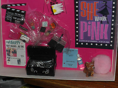 Rare 2006 Ultra Limited Barbie Convention Exclusive She Wore Pink Accessory Set