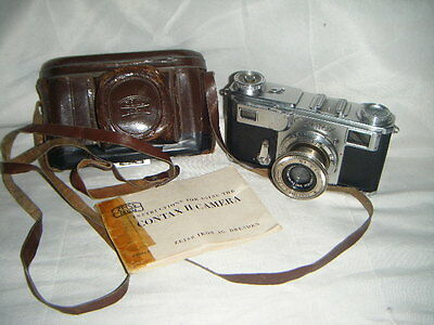 LEGENDARY Zeiss CONTAX 11  with Zeiss Tessar 5cm f3.5 Lens Rangefinder Camera