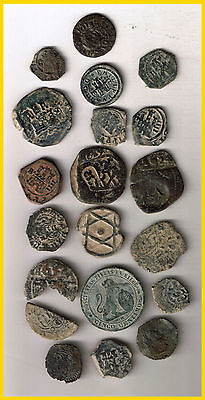 LOT  20 SPANISH PIRATE TREASURE COINS  (a)