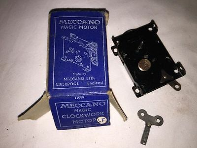 VINTAGE MECCANO. MAGIC MOTOR. EXCELLENT.. 1930s boxed & Instructions