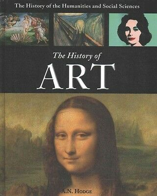 The History of Art by A.N. Hodge (English) Library Binding Book
