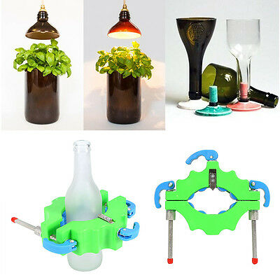 Green Wine Bottle Cutters Machine Beer Cutting DIY Recycle Glass Art Craft Tool