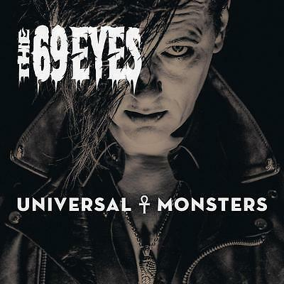 The 69 Eyes - Universal Monsters Black Vinyl LP NEU/OVP