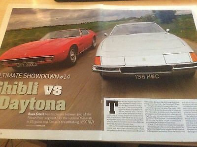 FERRARI DAYTONA - MASERATI GHIBLI  TWIN TEST ARTICLE 2010  ~FerrDay01