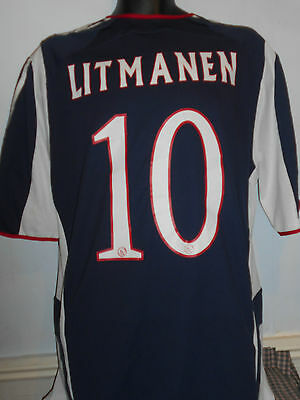 Ajax Away Shirt ( 2005/2006* LITMANEN 10) xl men's #259
