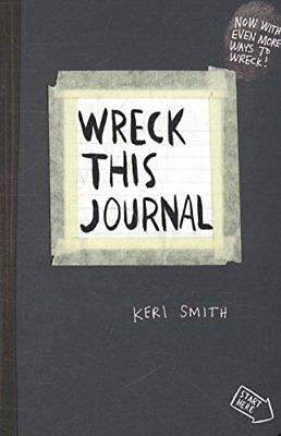 Wreck This Journal: To Create is to Destroy-Keri Smith