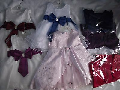 Joblot wholesale baby girls NEW dresses boleros occasion wear bargain price