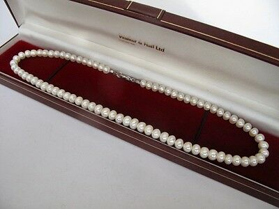 New - £95 Genuine CULTURED FRESHWATER PEARLS Necklace Fine Jewellery Womens !!