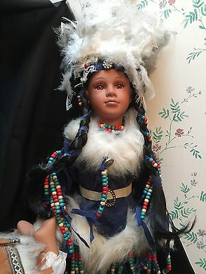 Choice Of Native American Indian Collectible Porcelain Dolls