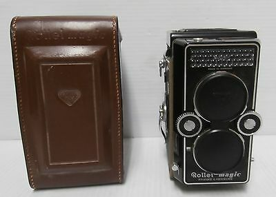 Rolleiflex Rollei Magic Camera F&H Xenar 1:3.5/75 Lens and Case