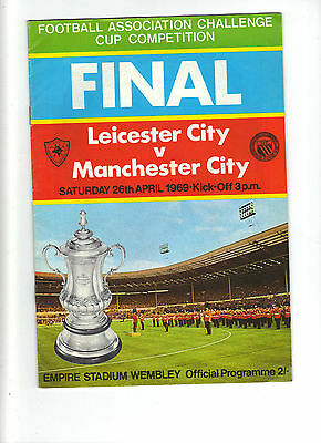 1969 F.A.Cup Final.Leicester City v Manchester City