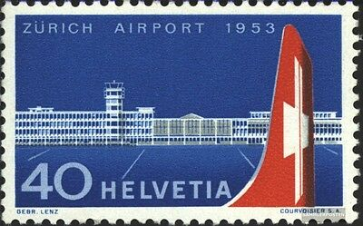 Switzerland 585 (complete.issue) used 1953 Airport