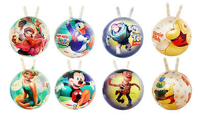 Kids Space Hopper Jumper Kangaroo Ball Bounce Toy Story Tinkerbell Mickey Mouse